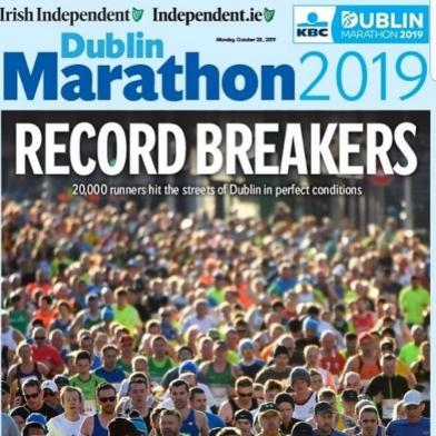 Dublin Marathon Record Breakers